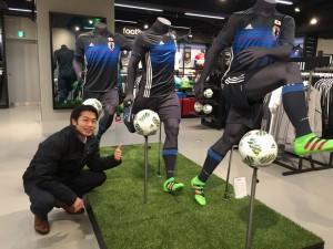 Adidas津野さん写真